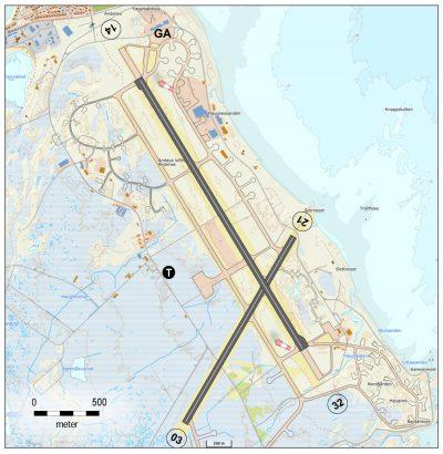 Andøya lufthavn, Andenes
