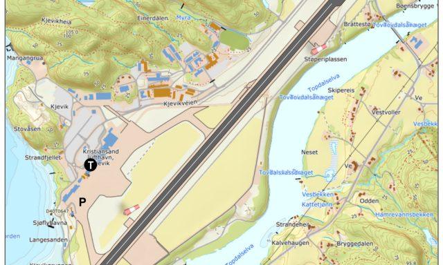Kristiansand lufthavn, Kjevik