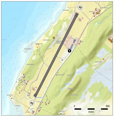 Sandnessjøen lufthavn, Stokka