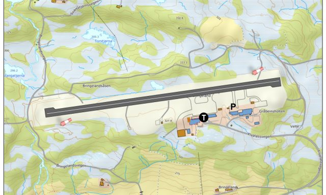 Førde lufthamn, Bringeland