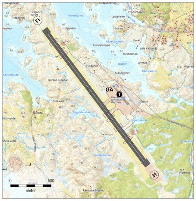 Haugesund lufthavn, Karmøy