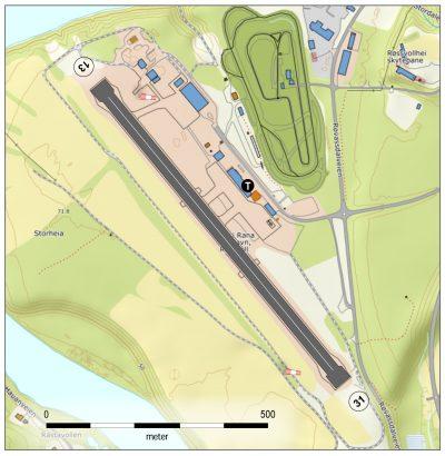 Mo i Rana lufthavn, Røssvoll